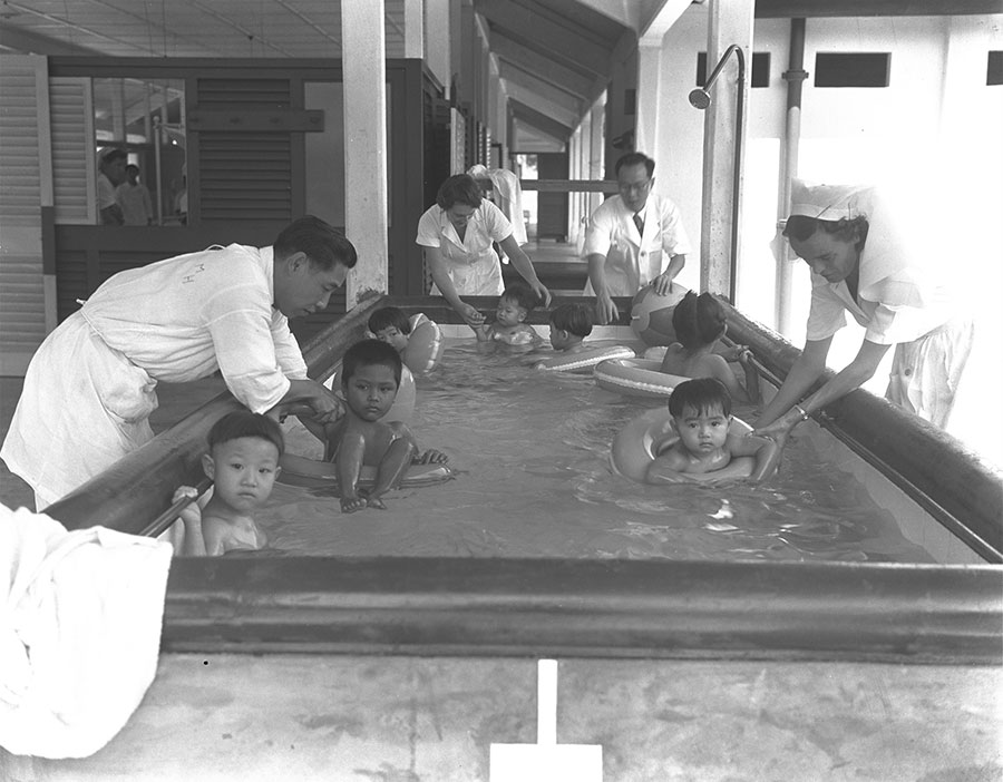 05 Hydrotherapy for Polio Patients