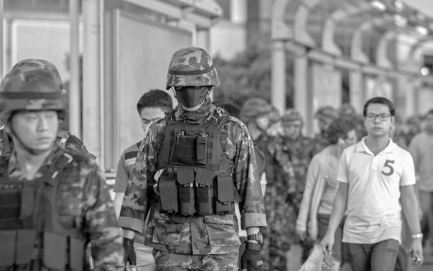 2014-Thai-Army-coup-d'etat-Bangkok-Thailand.