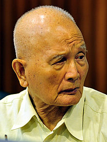 "Nuon Chea. He was commonly known as ""Brother Number Two"" and in detention awaiting a United Nations trial for crimes against humanity."