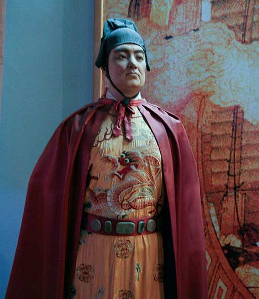 Cheng Ho statue in the Quanzhou Maritime Museum
