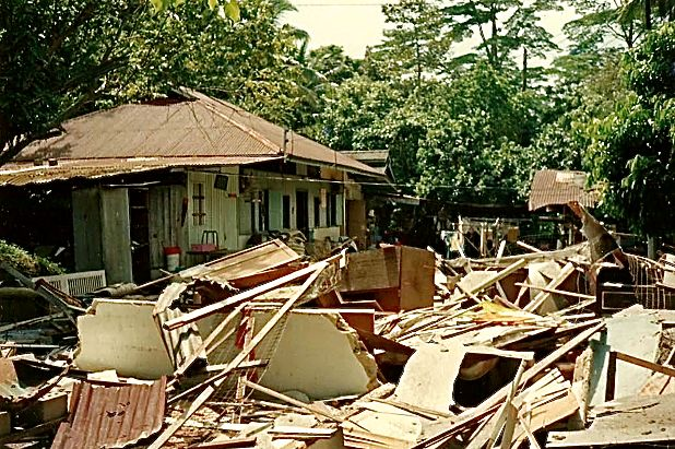 Resettlement and demolition, courtesy of Koh Geok Khee