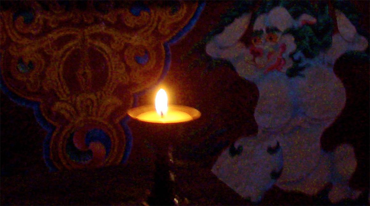 Butter-lamp