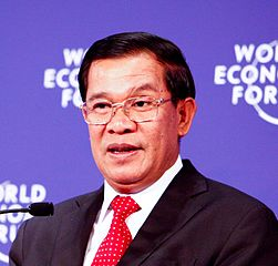Hun Sen. The 59th and current Prime Minister of Cambodia since 1985.