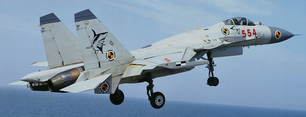 Chinese Shenyang J-15. A Carrier-Based Multirole Fighter