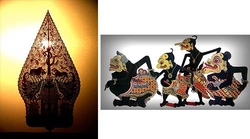 FIGURE4b: The decoration of Javanese Culture