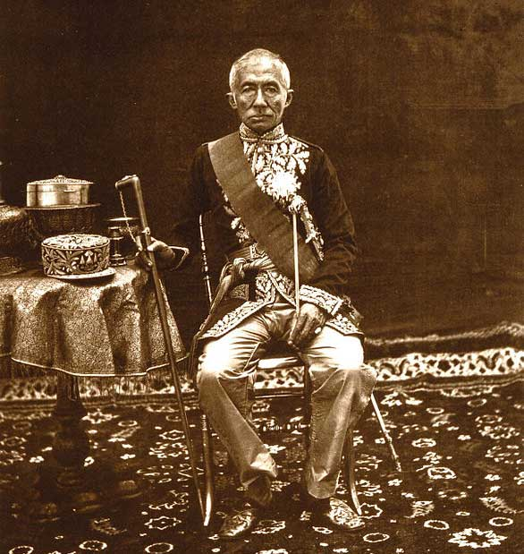 King Mongkut (r.1851-1868), for ordered a Khmer stone temple disassembled and reconstructed on Thai soil