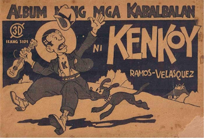 """Album nang mga Kabalbalan ni Kenkoy"" written by Romualdo Ramos and illustrated by Tony Velasquez"