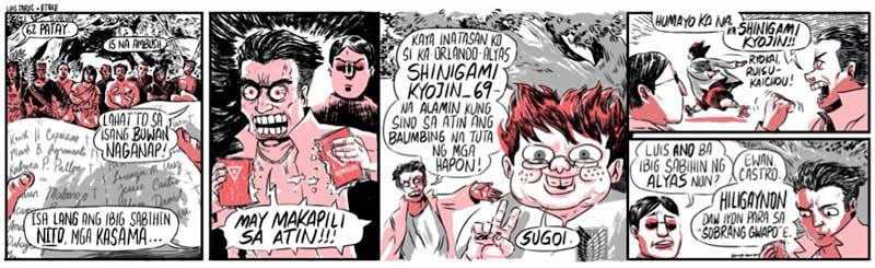 Kampilan, Luis Taruc x Otaku, 2014)