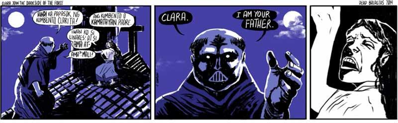Kampilan, Clara, Join the Darkside of the Force, 2014