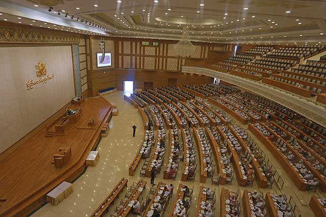 The Myanmar Lower House, Parliament, Naypyidaw
