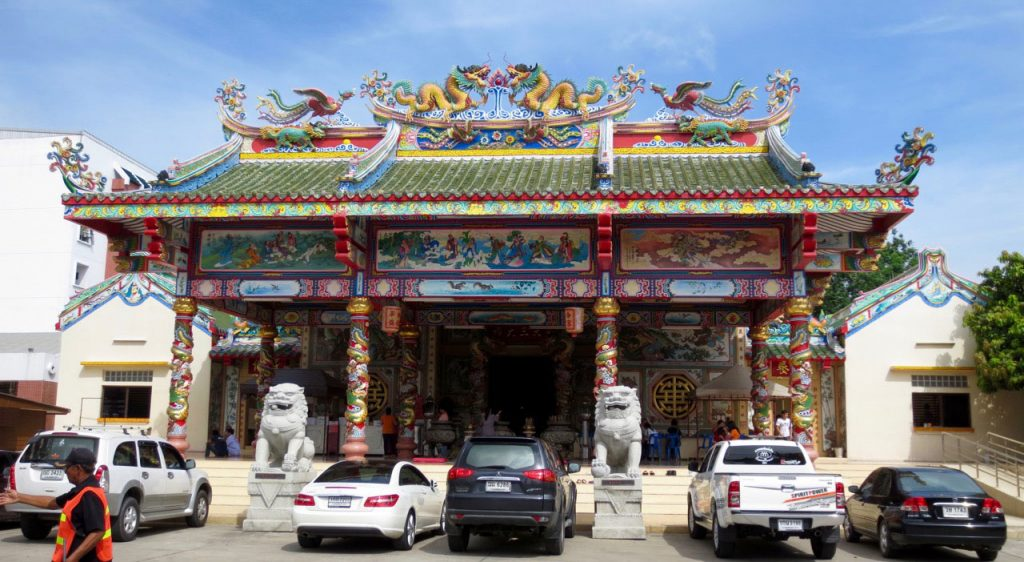 Ngi Tek Tung Temple, registered as a philanthropic foundation. Photo by T. Kataoka​