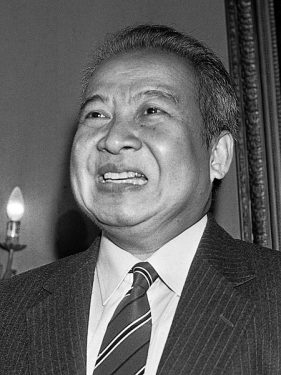 Norodom Sihanouk. King of Cambodia from 1941 to 1955 and again from 1993 to 2004.