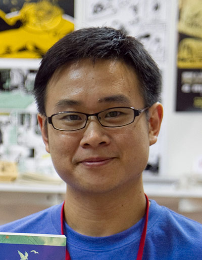 Sonny Liew at Singapore Toy, Games and Comic Convention 2010. Photo: Wikimedia commons