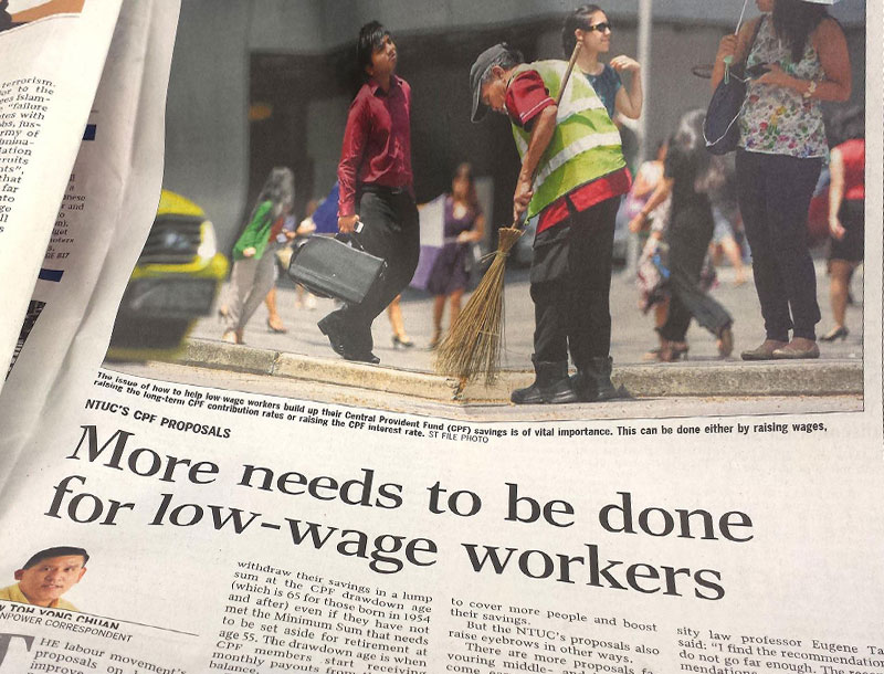 From the Straits Times, early 2015,