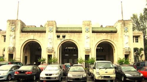 Singapore's art deco Tanjong Pagar Railway Station, closed in 2011, is the starting point of Koh's new comic that ties the writer's personal with his country's economic development.