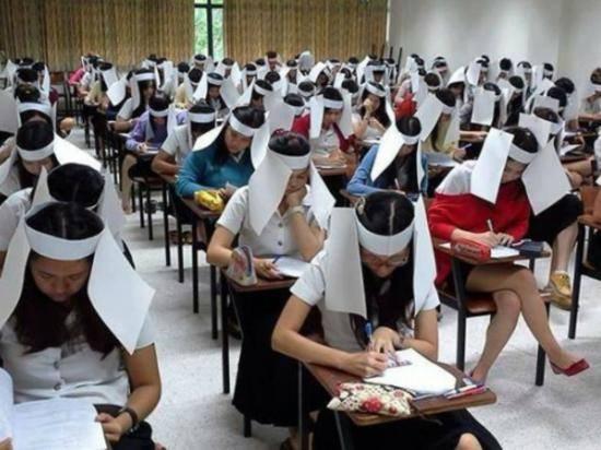 A Thai university examination
