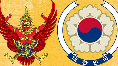 Thailand_Korea_emblems