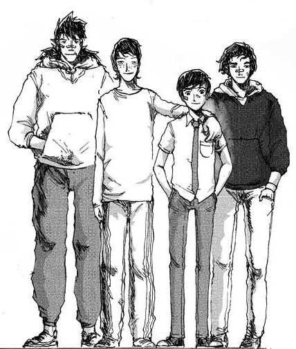 FIGURE 2: The main characters of Wanara