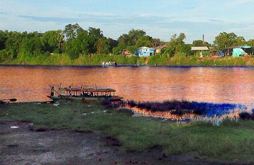 Origin of the Chao Phraya River in Nakhon Sawan