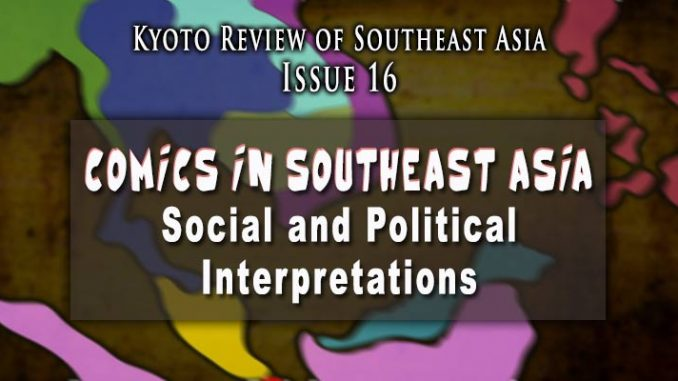 Comics in Southeast Asia | Kyoto Review of Southeast Asia