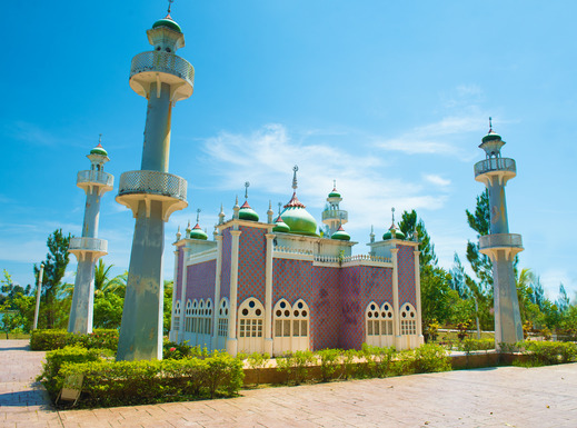 Pattani Central Mosque. Southern Thailand