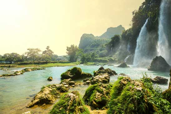 Ban Gioc – Detian waterfall in Vietnam